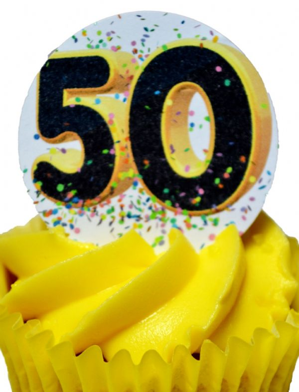 Edible Cake Toppers Decoration - 50